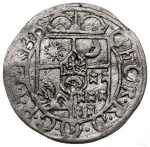 Półtorak, 1636 CV, mennica Kluż-Napoka; Aw: Ukoronowana...