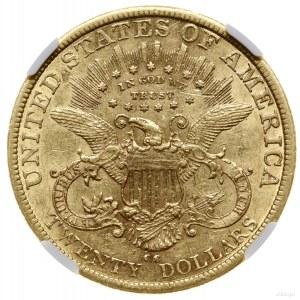 20 dolarów, 1879 CC, mennica Carson City; typ Liberty H...