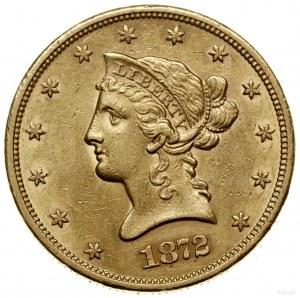 10 dolarów, 1872 S, mennica San Francisco; typ Liberty ...