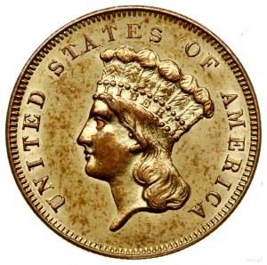 3 dolary, 1856 S, mennica San Francisco; typ Liberty He...