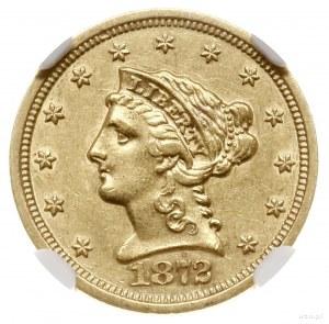 2 1/2 dolara, 1872 S, mennica San Francisco; typ Libert...