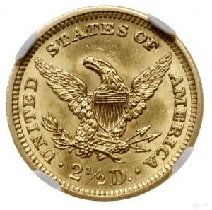 2 1/2 dolara, 1905, mennica Filadelfia; typ Liberty hea...