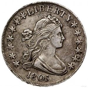 50 centów (1/2 dolara), 1805, mennica Filadelfia; typ D...