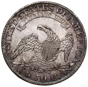 50 centów, 1826, mennica Filadelfia; typ Capped Bust Ha...