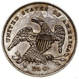 25 centów, 1831, mennica Filadelfia; typ Capped Bust, w...
