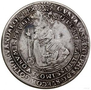 Talar (riksdaler), 1617, mennica Sztokholm; Aw: Półpost...