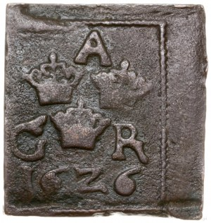 1 öre, 1626, mennica Säter lub Nyköping; SM 125; miedź,...