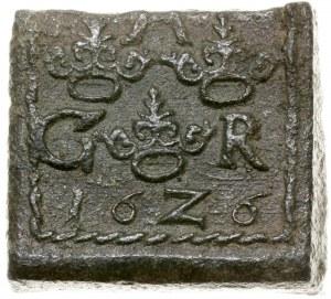 1 öre, 1626, mennica Säter lub Nyköping; SM 126; miedź,...
