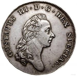 Talar (riksdaler), 1776, mennica Sztokholm; Dav. 1736, ...