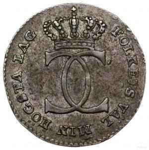 1/24 talara (riksdalera), 1812, mennica Sztokholm; SM 2...