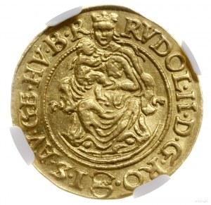 Dukat, 1587 KB, mennica Kremnica; Aw: Maryja z Dzieciąt...