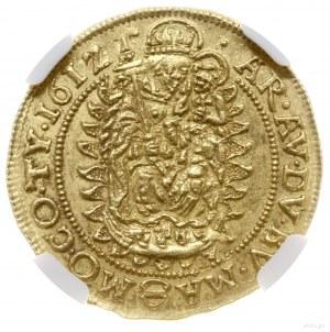Dukat, 1612 KB, mennica Kremnica; złoto, 3.49 g; Aw: Po...