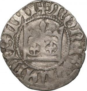 Władysław II Jagiełło (1386-1434) - Półgrosz Kraków -