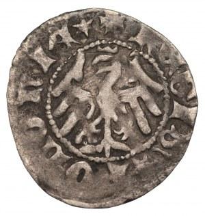 Władysław II Jagiełło (1386-1434) - Półgrosz Kraków - bez znaku