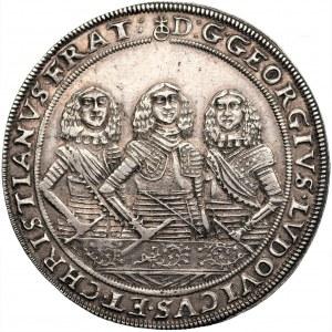 Śląsk - Brzeg - Talar Trzech Braci 1658