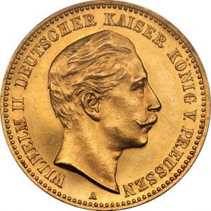 NIEMCY - Prusy - Wilhelm - 10 marek 1900 - piękna moneta