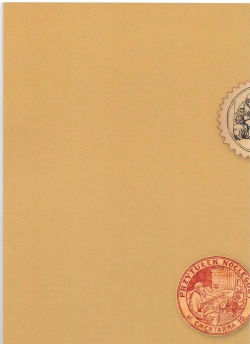 Jacek Strzałkowski - Dziennik kolekcjonerski znaczków kwestarskich z okupacji niemieckiej w Łodzi 1914-1914