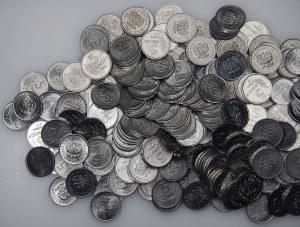 PRL - 219 sztuk monet 1 i 5 groszy (1949-1972) - mennicze