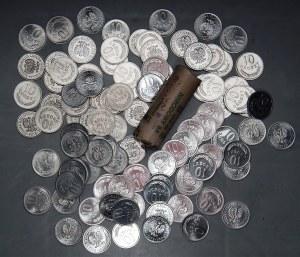 PRL - 97 sztuk monet 10 groszy (1976-1979) - mennicze