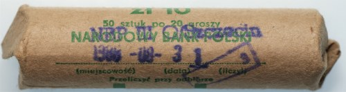 PRL - Rulon bankowy 50 x 20 groszy 1979