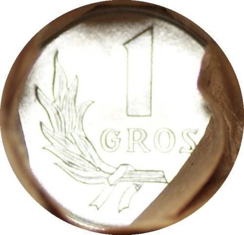 PRL - Rulon bankowy 50 x 1 grosz 1949