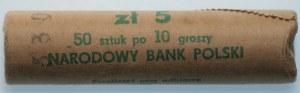 PRL - Rulon bankowy 50 x 10 groszy 1979