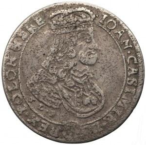 Jan II Kazimierz (1649-1668) - ort 1668