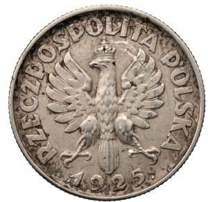 II RP - 1 złoty 1925 - Kobieta i kłosy