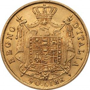 WŁOCHY - 40 lirów 1814 - mennica Mediolan