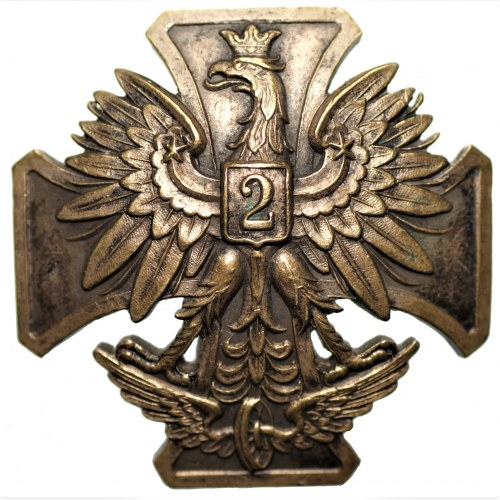 Odznaka - 2 Pułk Saperów Kolejowych