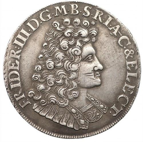 NIEMCY - Prusy (Brandenburgia) - 2/3 Talara 1689 IE