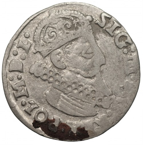 Zygmunt III Waza (1587-1632) - trojak 1624 - odmiana RFG zamiast REG