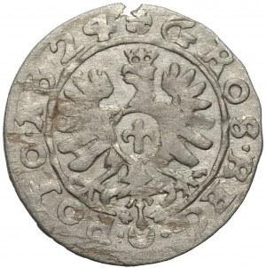 Zygmunt III Waza (1587-1632) - grosz 1624 - odmiana GROS zamiast GROSS