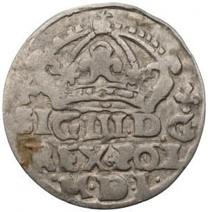 Zygmunt III Waza (1587-1632) - grosz 1624 Bydgoszcz - podwójne O w POL - POOL