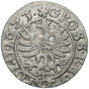 Zygmunt III Waza (1587-1632) - grosz 1623 - błąd SGG zamiast SIG