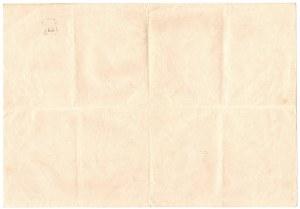 Kolej Północna Ferdynanda - 1/5 Akcja Uczestnictwa - Lit.A, - 200 złotych 1935