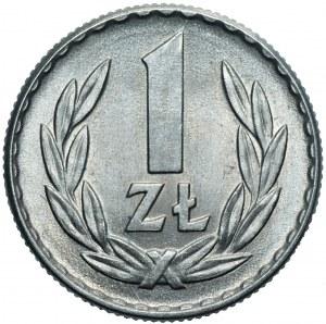 PRL - 1 złoty 1966 - mennicza