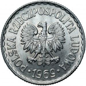 PRL - 1 złoty 1969 - mennicza