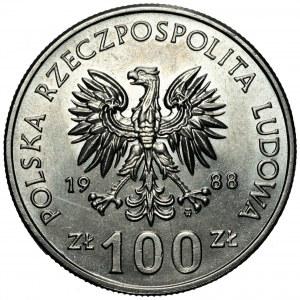 100 złotych 1988 - Jadwiga - bez znaku projektanta