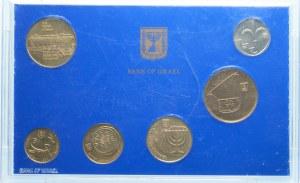 IZRAEL - zestaw monet obiegowych 1988