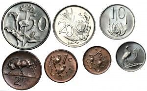 RPA - Zestaw 7 sztuk monet 1976 - mennicze