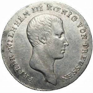 Niemcy - Prusy - Fryderyk Wilhelm III (1797-1840) - 1/6 talara 1810 A