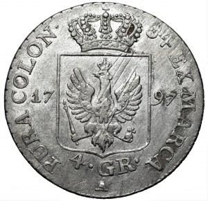 Niemcy - Prusy - Fryderyk Wilhelm II (1786-1797) - 4 grosze 1797 A