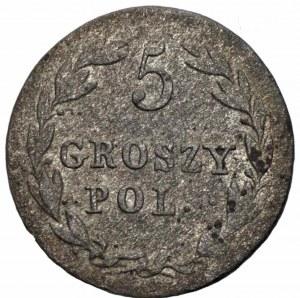 Królestwo Polskie - 5 groszy 1819 - I.B. Warszawa