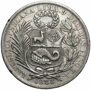 Peru - 1 sol 1888