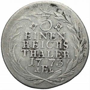 Niemcy - Prusy - Fryderyk II (1740-1786) - 1/3 talara 1773 (E) Królewiec