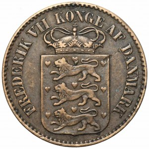 Duńskie Indie Zachodnie - 1 cent 1859