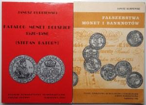 Janusz Kurpiewski - Katalog Monet Polskich Stefan Batory oraz Fałszerstwo Monet i Banknotów