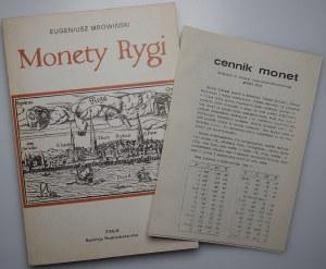 Eugeniusz Mrowiński -Monety Rygi - PTAiN Warszawa 1986, opracował Borys Paszkiewicz