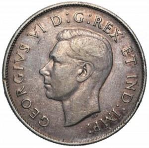 KANADA - 50 centów 1945